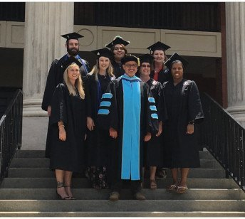 Newberry College BSRT Grads 6-12-2019